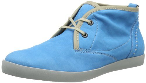 Think Womens Seas Hi-Top Slippers Blue Blau (jeans/kombi 90) Size: 40.5