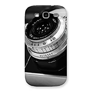 Ajay Enterprise Elite BW Camera Up Back Case Cover for Galaxy S3