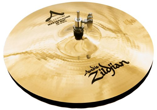 Zildjian A Custom 14-Inch Mastersound Hi-Hat Cymbals Pair