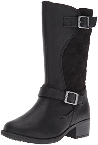 Rachel Shoes Girls' Lil Odessa Boot, Black Smooth, 9 M US Toddler (Shoes For A Lil Girl compare prices)