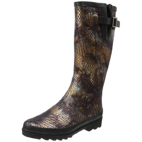 Chooka Women's Reptilia Rain Boot