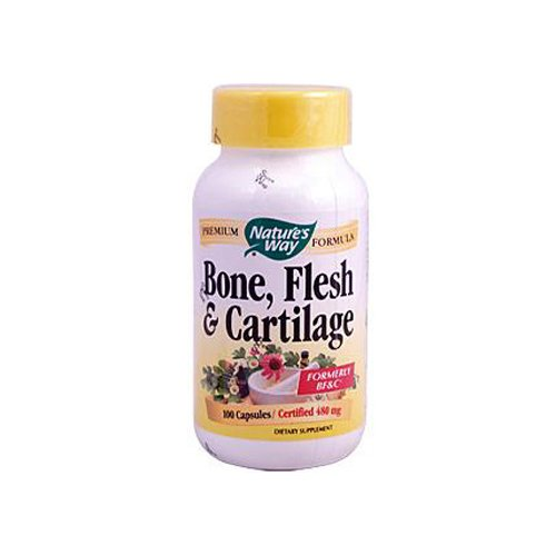 Wholesale Natures Way Bone Flesh And Cartilage - 100 Capsules, [Health Supplements, Vitamins]