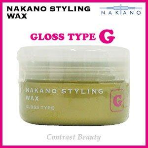 ナカノ スタイリング ワックス G グロスタイプ 90g ≪ナカノスタイリングワックス2002≫