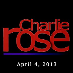 Charlie Rose: Thomas L. Friedman and Rashid Khalidi, April 4, 2013 Radio/TV Program