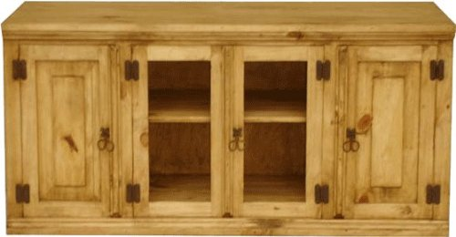 """Sonora 49"""" Rustic Pine TV Stand"""