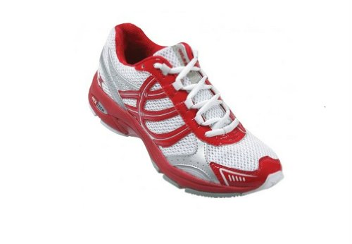 GILBERT Flash Junior Netball Shoes, Red/White, US4.5 (Netball Shoes compare prices)