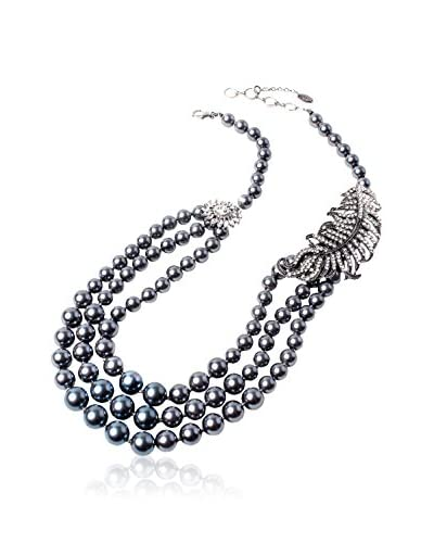 Amrita Singh Collana Leaf Pearl