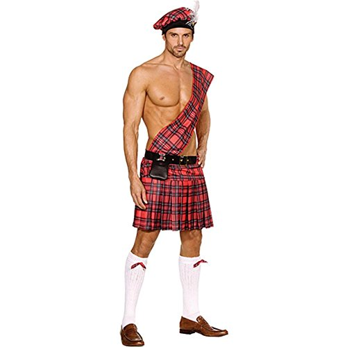 Hot Scottie Men's Plus Size Costume