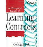 img - for [(A Complete Guide to Learning Contracts )] [Author: George Boak] [Jan-1998] book / textbook / text book