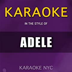Karaoke (In the Style of Adele)