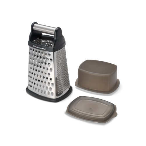 Kitchenaid Gourmet Grater, Box, Black front-126250