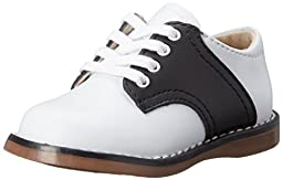 FootMates Unisex Cheer 3 (Infant/Toddler/Little Kid) White/Black Oxford 7 Toddler M/W