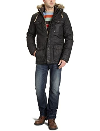 tom tailor denim herren parka 35202480012 coated cotton parka. Black Bedroom Furniture Sets. Home Design Ideas