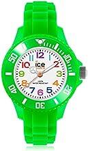 Ice-Watch MN.GN.M.S.12 - Reloj analógico de cuarzo infantil con correa de silicona, color verde