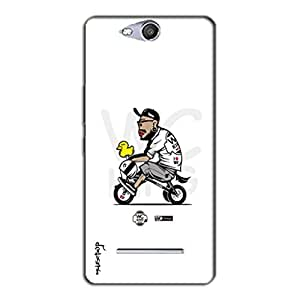 DESIGNER BACK COVER Micromax Canvas Juice 3 Q392