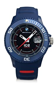 Bmw Motorsport Ice Watch - Blue Band Black Face from BMW