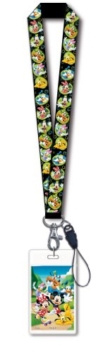 disney-mickey-gang-black-lanyard-with-card-holder