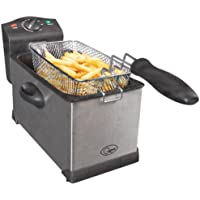 Quest 35140 3L Stainless Steel Deep Fat Fryer
