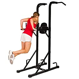 XMark Power Tower with Dip Stand and Split Grip Pull-up Bar XM-4451