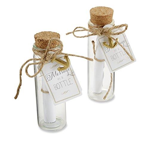 "Kate Aspen ""Message in a Bottle"" Glass Favor Bottle, Set of 12 Reviews"