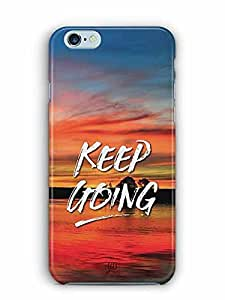 YuBingo Keep Going Designer Mobile Case Back Cover for Apple iPhone 6S Plus