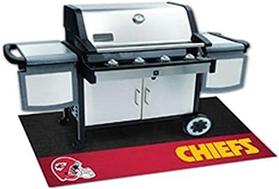 """Fanmats Sports Team Logo NFL - Kansas City Chiefs Grill Mat 26"""" x 42"""""""