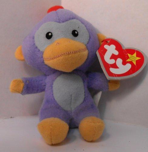 TY McDonald's Teenie Beanie - #10 FEZ the Monkey (2009)