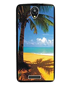 Techno Gadgets Back Cover for Intex Aqua Y4