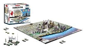 4D Cityscape Toronto, Canada Puzzle by 4D Cityscape