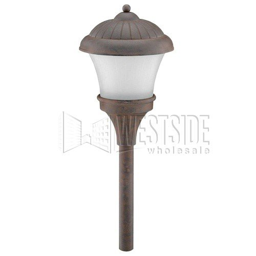 landscape path light oiled bronze low voltage landscape lighting