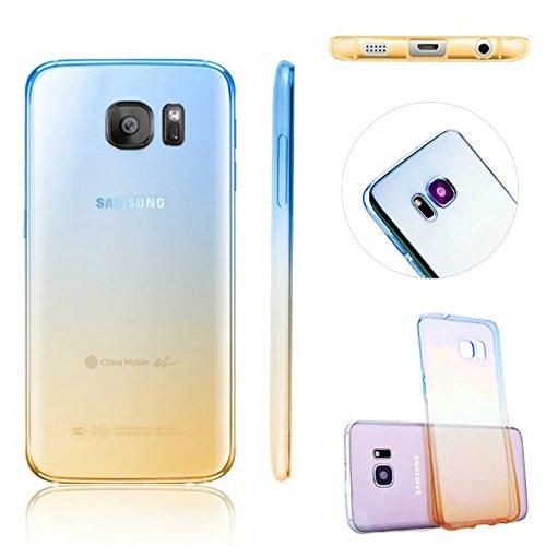 MOMDAD Samsung Galaxy S6 Edge Plus Coque en Silicone TPU de Protection transparente Pare-Chocs Housse Ultra-Fine Case Cover Etui Soft Couverture