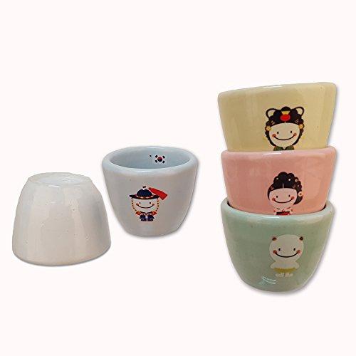 Korean Monster Ceramic Soju shot glasses set (My Jo Coffee Maker compare prices)