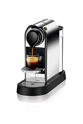 Nespresso CitiZ C112/D112 Coffee and Espresso Maker, Chrome