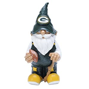 NFL Green Bay Packers Garden Gnome by Forever Collectibles