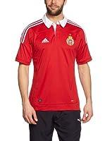 adidas Camiseta Manga Corta (Rojo / Blanco)