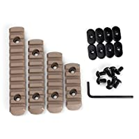Polymer Rail Section Kit for MOE Handguard L5 L4 L3 L2 Sizes by ohhunt