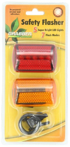 Grabber Outdoors Safety Flashing System- 5 LED Lights Featuring 7 Flash FunctionsB0000BVYT6