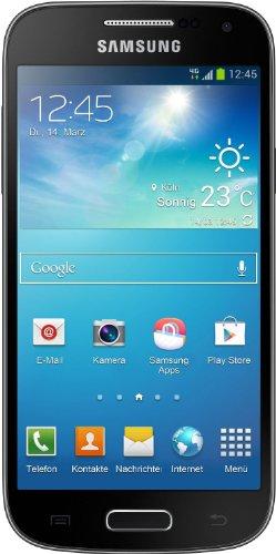 Samsung-Galaxy-S4-mini-Smartphone-43-Zoll-109-cm-Touch-Display-8-GB-Speicher-Android-42-tief-schwarz-mit-Leder-Cover-Zertifiziert-und-Generalberholt