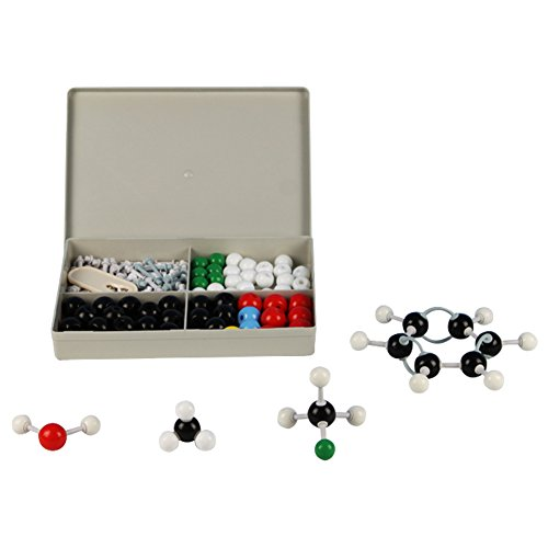 Molecular Model Kit - Premium Quality Set for Organic Chemistry - Color Coded Atom Collection - Science Kit (Molecular Modeling Kit Darling compare prices)