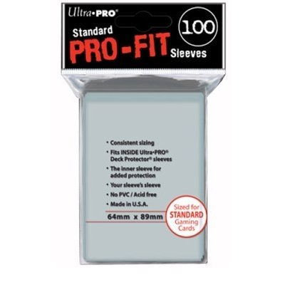 Pro-Fit - Fundas para cartas (Ultra Pro 74427827120)