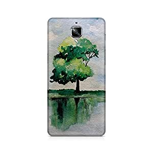 Mobicture Nature Abstract Premium Designer Mobile Back Case Cover For OnePlus Three
