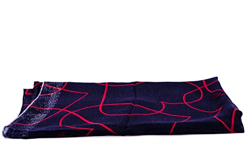 Armani Jeans Sciarpa Donna Tessuto Dark Navy