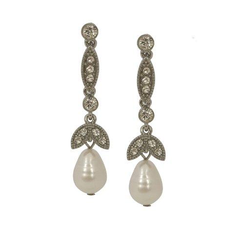 Lovett and Co Lula Freshwater Pearl Drop Earrings