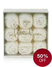Florentyna White Flowers Soap Roses Gift Set