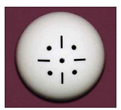 Black Dot Practice Training Billiard Pool Cue Ball