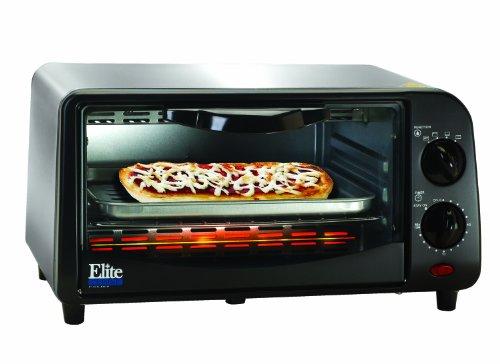 Maximatic Eka-9210Si Elite Cuisine 4-Slice Toaster Oven, White
