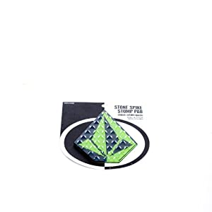 Volcom Stone Spike Stomp Pad For a Snowboard (Lime)