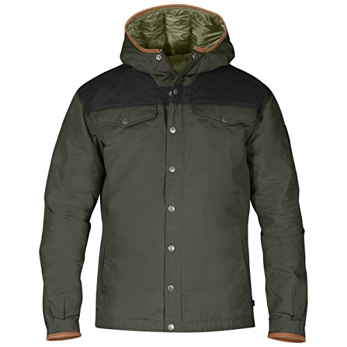 Fjallraven Greenland No. 1 Down Jacket - Men's Black / Mountain Grey Medium