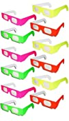Fireworks Glasses  12 pair  NEON Colors