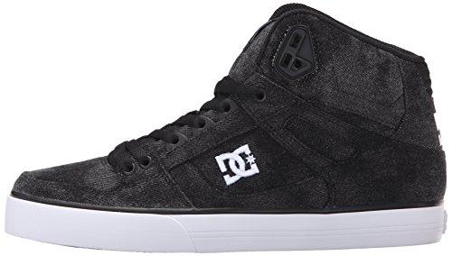 DC Men's Spartan High WC TX SE Skate Shoe, Black Acid, 11 M US